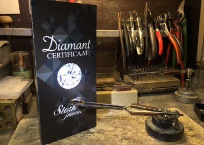 diamant certificaat stork juweliers