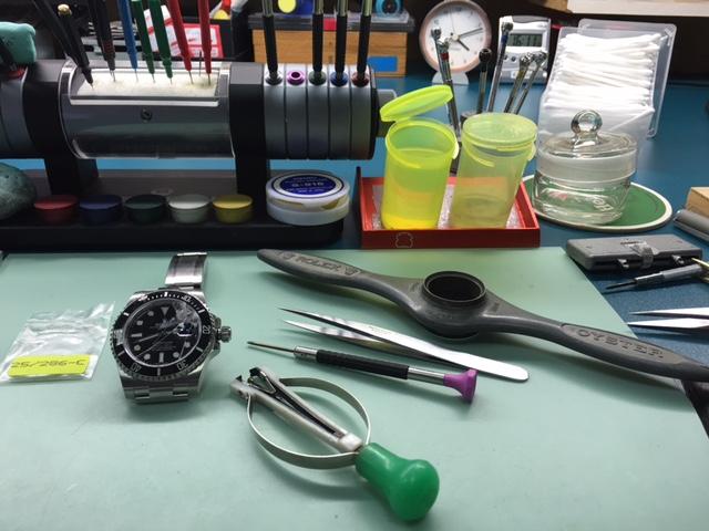horloge reparatie